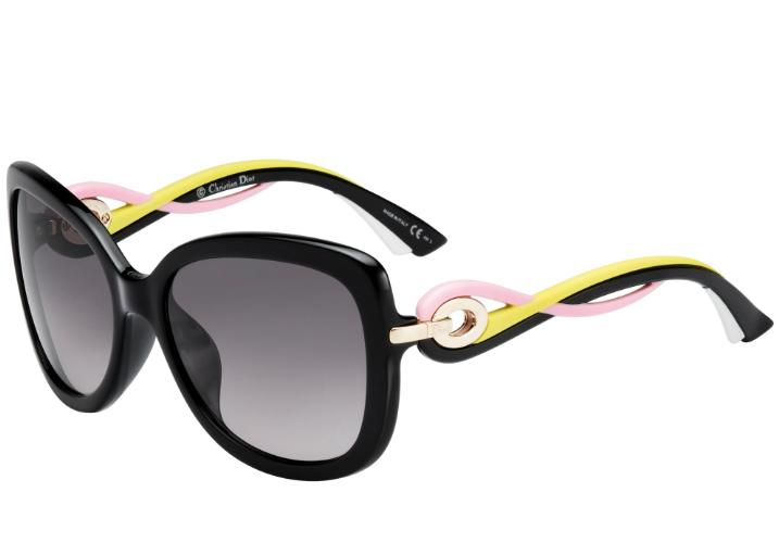 Dior Twisting Square Sunglasses
