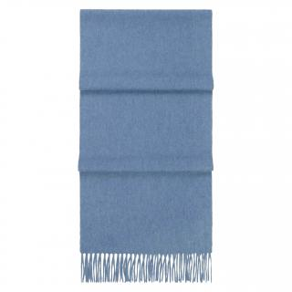 N.Peal Blue Cashmere Scarf