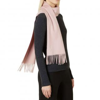 N.Peal Pale Pink Cashmere Scarf