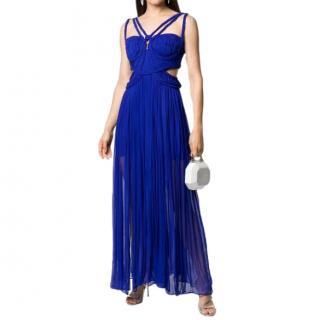 Thurley Royal Blue Braided Detail Dress