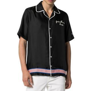 Champion x Clothsurgeon Silk Embroidered Bowling Shirt