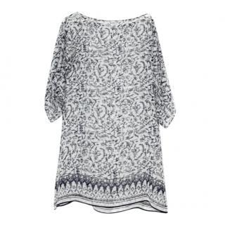 Dolce & Gabbana Beachwear Silk Kaftan