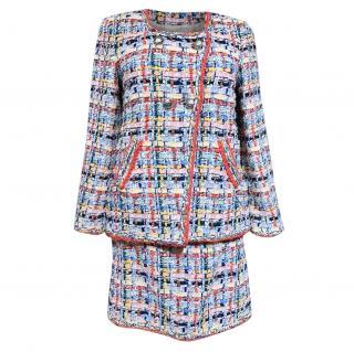 Chanel Metiers D'Art Lesage Multicoloured Tweed Skirt Suit