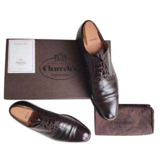 Church's Brown Calfskin Oxford Shoes