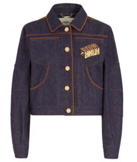 Fendi Roma Amor denim jacket