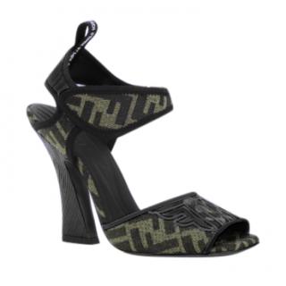 Fendi Roma Amor Monogram Sandals