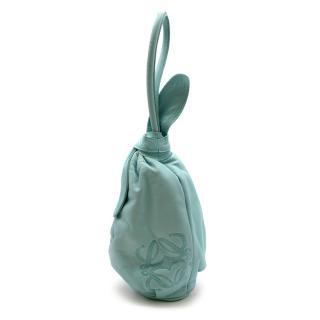 Loewe Blue Leather Vintage Top Handle Mini Bag