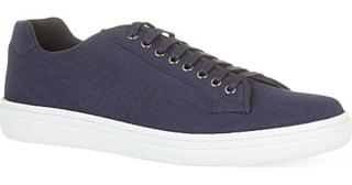 Church's Blue Mirfield Canvas Trainers