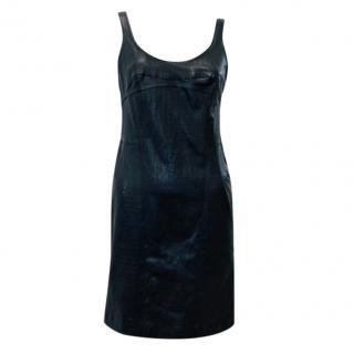 McQ by Alexander McQueen Leather Sleeveless Dress