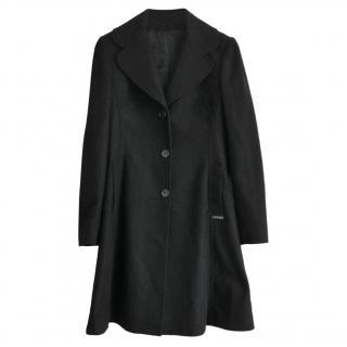 John Galliano Vintage Wool Blend Coat