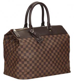 Louis Vuitton Damier Ebene Coated Canvas Greenwich PM Travel bag