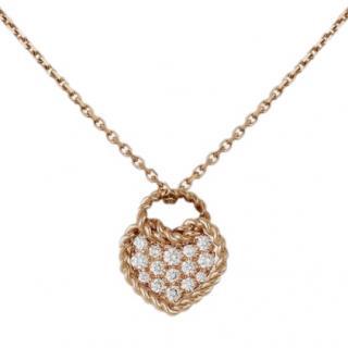 Cartier C�ur Torsad� de Cartier necklace with heart motif