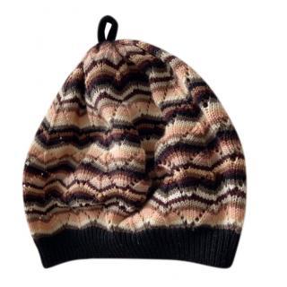 Missoni Wool Knit Crochet Hat