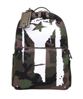 Valentino Garavani Mariposa Camo Backpack