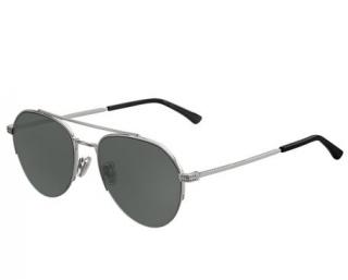 Jimmy Choo ILYA/S 010 Silver Aviator Sunglasses
