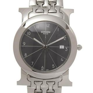 Hermes Heure H Stainless Steel Ronde Watch