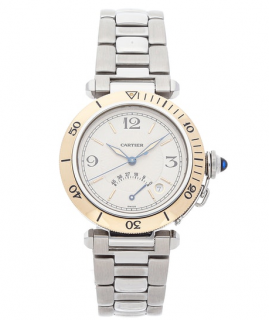 Cartier Stainless Steel Pasha Automatic 33MM Watch