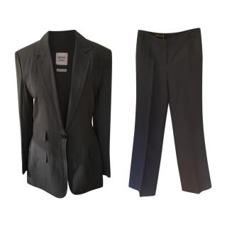 Hermes by Margiela Striped Grey Trouser Suit