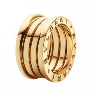 Bvlgari 18kt Yellow Gold  B-Zero1 Ring