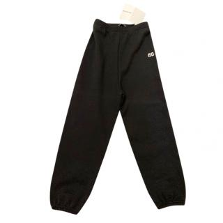 Balenciaga Kids 6 Years Black Joggers
