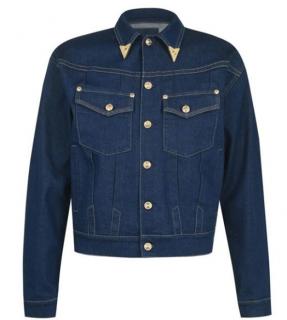 Versace Jeans Couture Gold Tip Denim Jacket