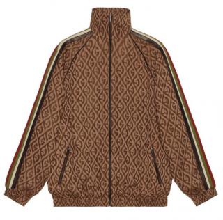 Gucci Oversize G Rhombus Zip Jacket