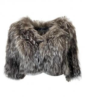 Amanda Wakeley Fur Cropped Jacket