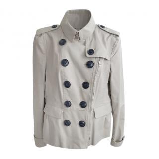 Burberry Brit Stone Brookleigh Peplum Jacket