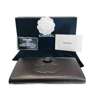 Chanel Brown Caviar Timeless Long Wallet