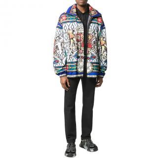 Dolce & Gabbana mosaic print lightweight jacket