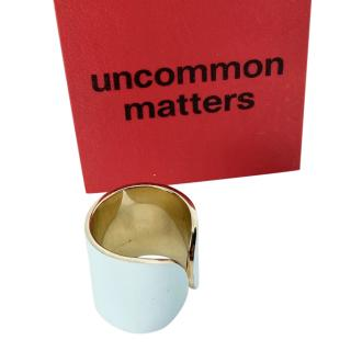 Uncommon Matters White Metal Tone Ring