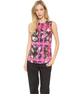 Thakoon Addition Floral Print Sleeveless Top