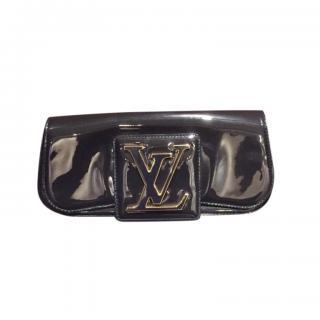 Louis Vuitton Dark Grey Patent SoBe Clutch