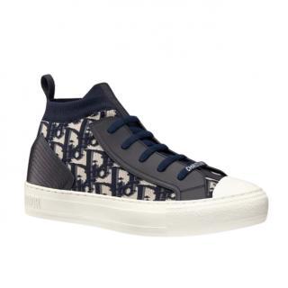 Dior Blue Oblique Walk'n'Dior Sneaker