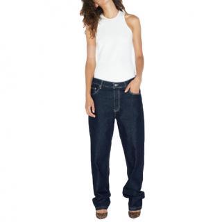 Raey Blue Opa Baggy Boyfriend Jeans