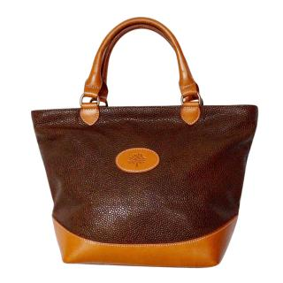 Mulberry Vintage Scotchgrain Branston Tote Bag