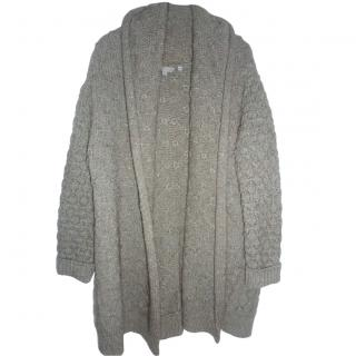 Vince Knit Wool Blend Open Cardigan