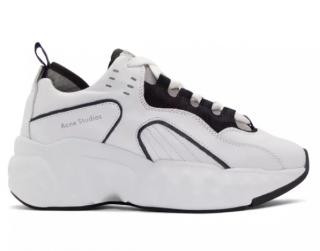 Acne Studios White Chunky Manhattan Sneakers