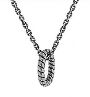 Eins Berlin Rope Pendant Necklace
