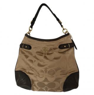 Coach Satin Colette Hobo Bag