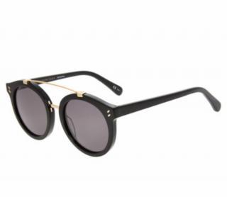 Stella McCartney Black Pilot Sunglasses