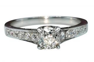David Simmons 18ct White Gold Diamond Ring