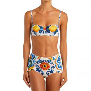Dolce & Gabbana SIcily Print Bikini