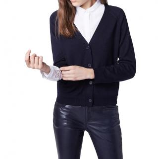 Claudie Pierlot Navy Maillon Cardigan