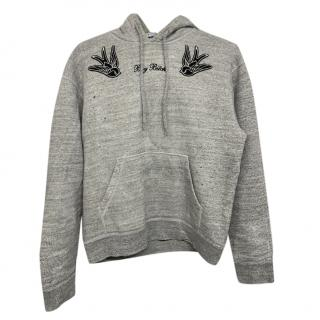 DSquared2 Boy Bitch Embroidered Grey Hoodie