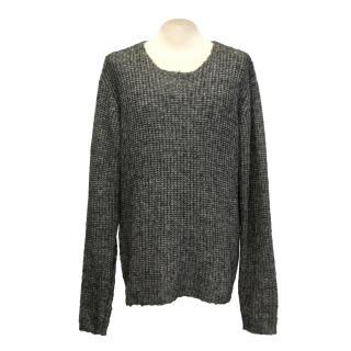 Cos grey knit jumper