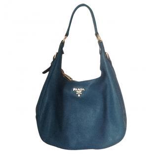 Prada Teal handbag