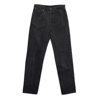 Andres Azubul grey washed jeans