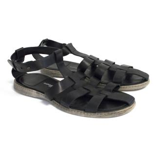 Costume National Homme gladiator sandals