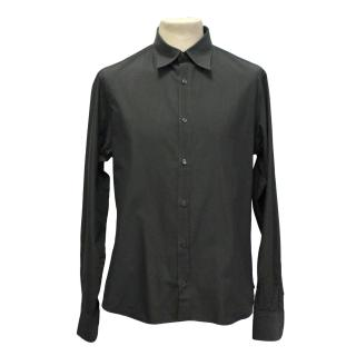 Prada Men's Cotton Grey Shirt